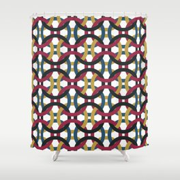 Entanglement of Circles Shower Curtain