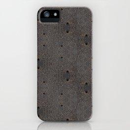 Sand Wormholes. iPhone Case