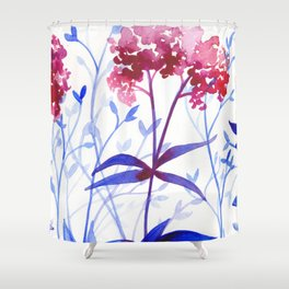 Garden by the Sea Shower Curtain