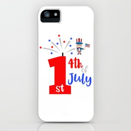 First 4th of July iPhone Case