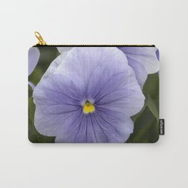 Pansy Mauve Carry-All Pouch