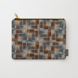 Mosaic Tiled Carry-All Pouch