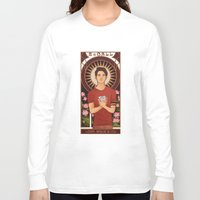 michael scott Long Sleeve T-shirts featuring Scott by callahaa