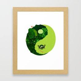 the tao of gardening Framed Art Print