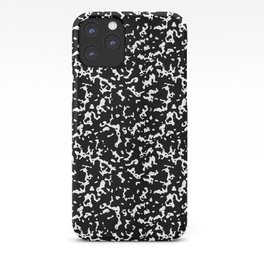 Black and White Composition Notebook iPhone Case