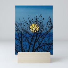 Night Birds Mini Art Print