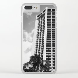 Waikiki Hustle Clear iPhone Case
