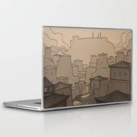 skyrim Laptop & iPad Skins featuring City of Gems by Hieronymus7Z