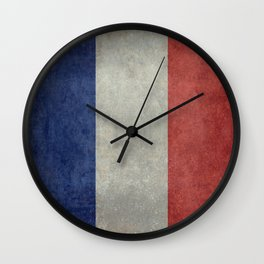 National Flag of France Wall Clock