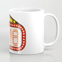 2018 Movie Theatre Marquee Coffee Mug