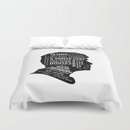 Quotes Pillow Duvet Cover