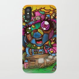 mad house iPhone Case