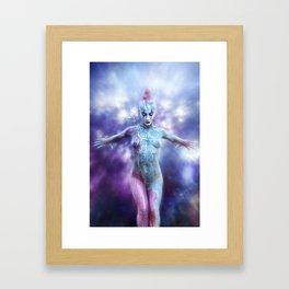 Body Painting Framed Art Print