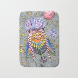 Magic owl Bath Mat