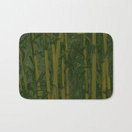 Bamboo jungle Bath Mat