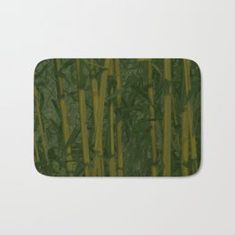 Bamboo jungle Bath Mat