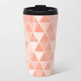 Coral Triangles Travel Mug