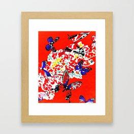 The Flight To Joy Framed Art Print