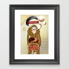 L'homme Moderne Framed Art Print
