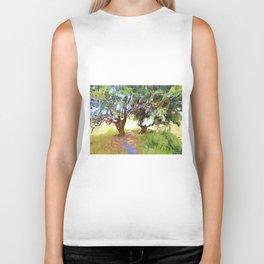 Wishing Tree on Tara Hill Biker Tank