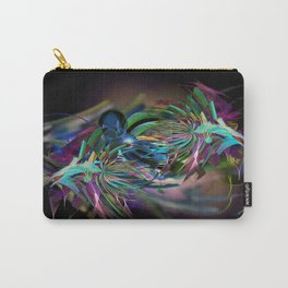 Flora Swirl Carry-All Pouch