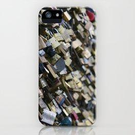 Unlock my (he)art iPhone Case