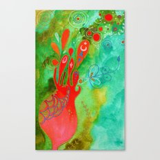 Surging From The Sea Of Dreaming Canvas Print