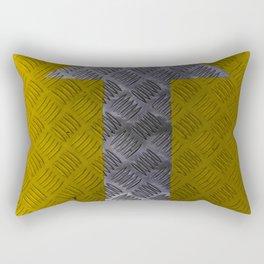 Industrial Arrow Tread Plate - Up Rectangular Pillow