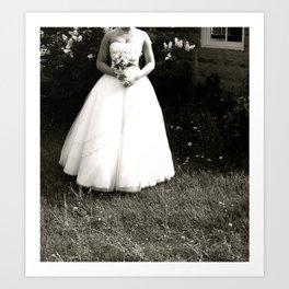 WHITEOUT : Alone Art Print