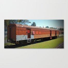 Railway Mail Car Canvas Print