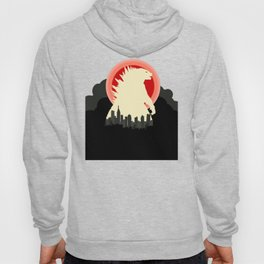 """May Godzilla destroy this home last"" Classic Movie Poster Hoody"