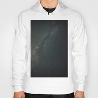 milky way Hoodies featuring Milky Way  by Mikography