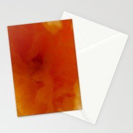 Textures (Orange version) Stationery Cards