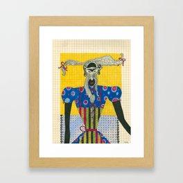 Apron Framed Art Print