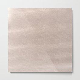 Chalky background - beige Metal Print