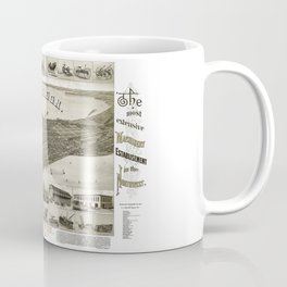 Madison - Wisconsin - 1885 Coffee Mug
