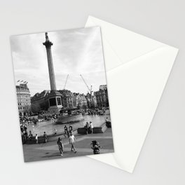 Trafalgar Square, London, England Stationery Cards