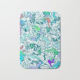 Kamasutra LOVE - Sea Blue Bath Mat