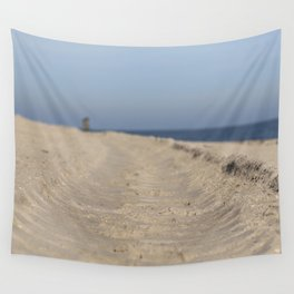 Traces in the sand Wall Tapestry