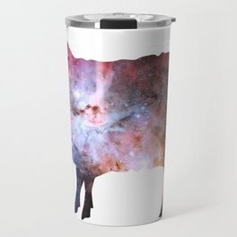 Psychedelic Sheep of the Family (2) Travel Mug