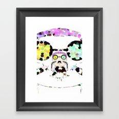 Monsieur Steams Framed Art Print
