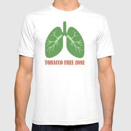 Tobacco Free Zone T-shirt