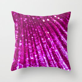 Triton´s Secrets Pink Palette Throw Pillow