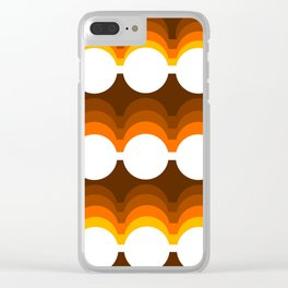 70s Clear iPhone Case