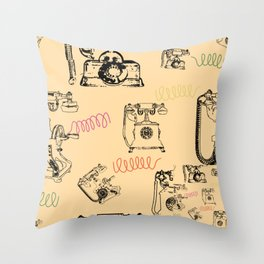 You Should've Called Me Yesterday Throw Pillow