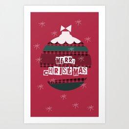Merry Christmas 2018-7 Art Print