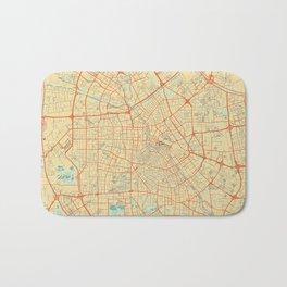 Tianjin Map Retro Bath Mat