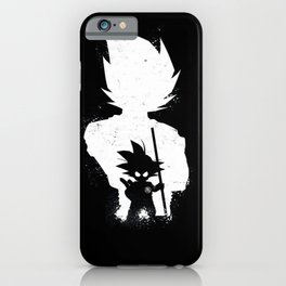 dbz father and son iPhone Case