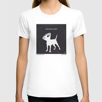 snatch T-shirts featuring No079 My Snatch minimal movie poster by Chungkong