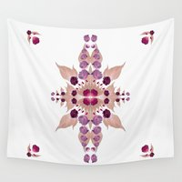 kaleidoscope Wall Tapestries featuring Kaleidoscope by Karolis Butenas
